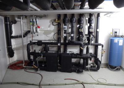 Kühlungsübergabestation (gerade im Endtest)