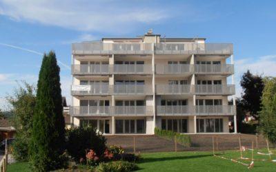 """09/12 – Mehrfamilienhaus """"Kern9244"""", Niederuzwil SG"""