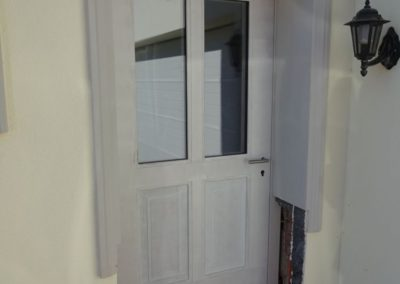 Neue Haustüre montiert