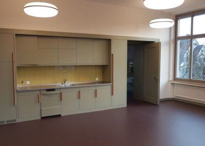 Eine Küche für die Lehrerschaft.