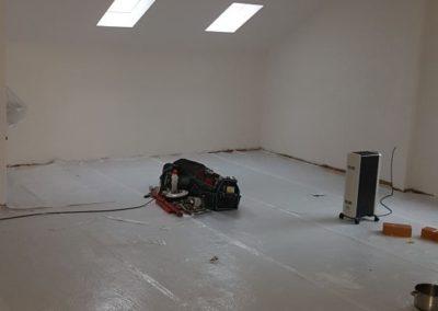 Malerarbeiten inhouse.